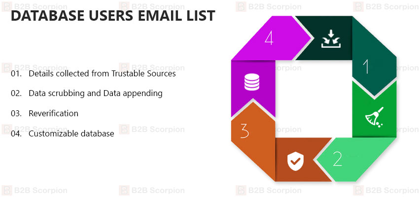 Database Users Email List