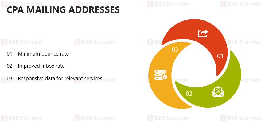 CPA Mailing Addresses | Business Lists For Accoutants | B2B Scorpion